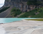 Sentiero per Plain of six Glaciers