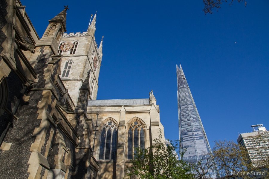 Southwark Cathedral e The Shard