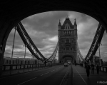 Tower Bridge B&W