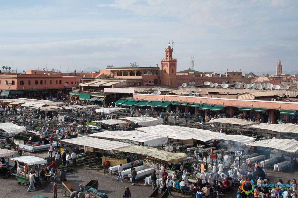 Marrakech - Djemaa el-Fna
