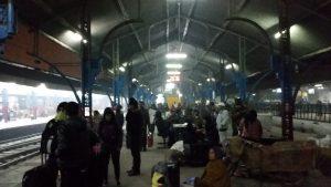 Sui binari a Delhi