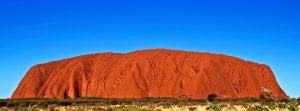 Uluru e il deserto rosso Australiano