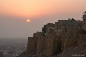 Tramonto a Jaisalmer