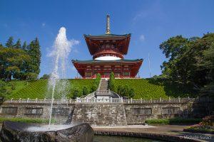 La grande pagoda Daitō