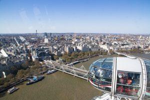 Vista dal London Eye