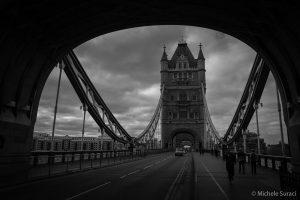 Tower Bridge B&W