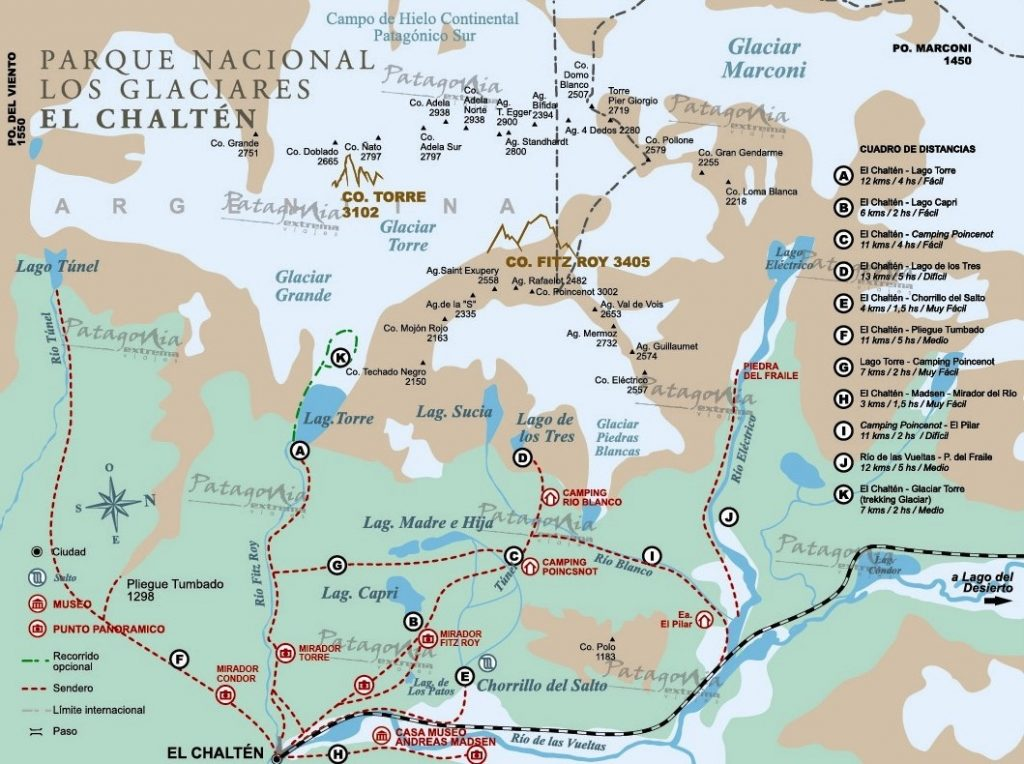 Dettaglio Trekking - Mappa 1