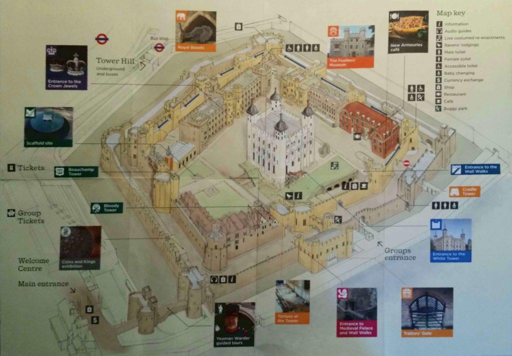 Tower Hill - Mappa