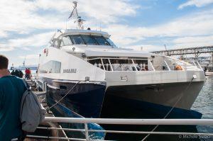 Traghetto per Robben Island