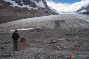 Morena Frontale Athabasca Glacier