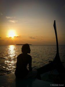 Al tramonto di rientro da Doore