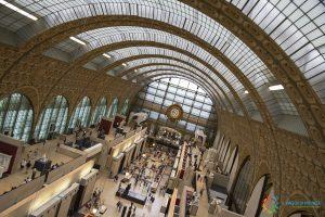 La grande hall Musée D'Orsay