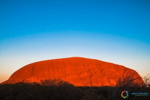 Alba a Uluru