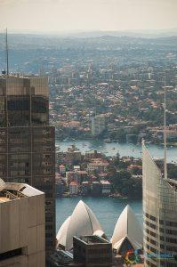 Dalla Sydney Tower