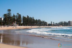 La spiaggia di Manly