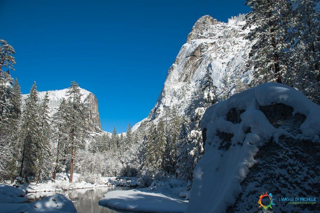 Viaggio in West Coast USA 2008 - 26 Dicembre Yosemite National Park