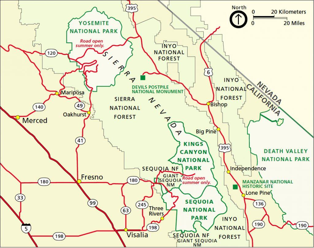 Mappa Generale Sequoia
