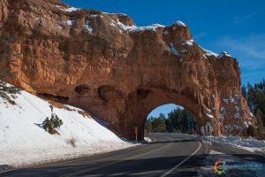 Entrando nel Bryce Canyon area