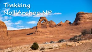Trekking nell'Arches National Park