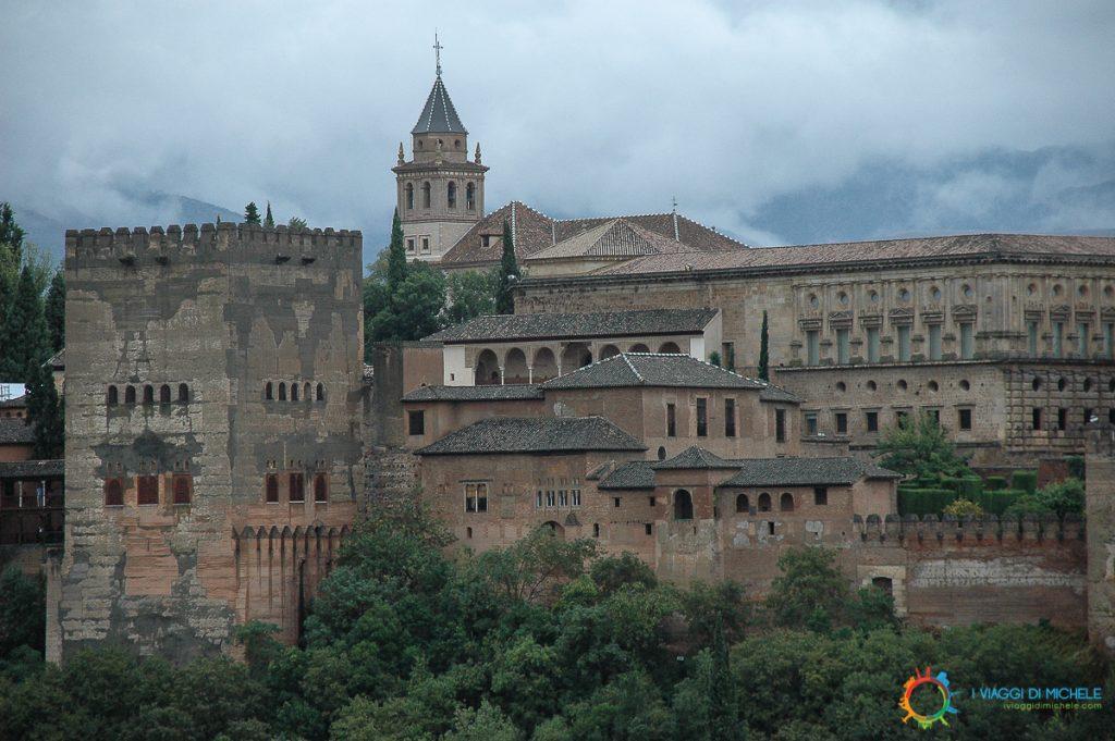 Alhambra dall'Albayzin