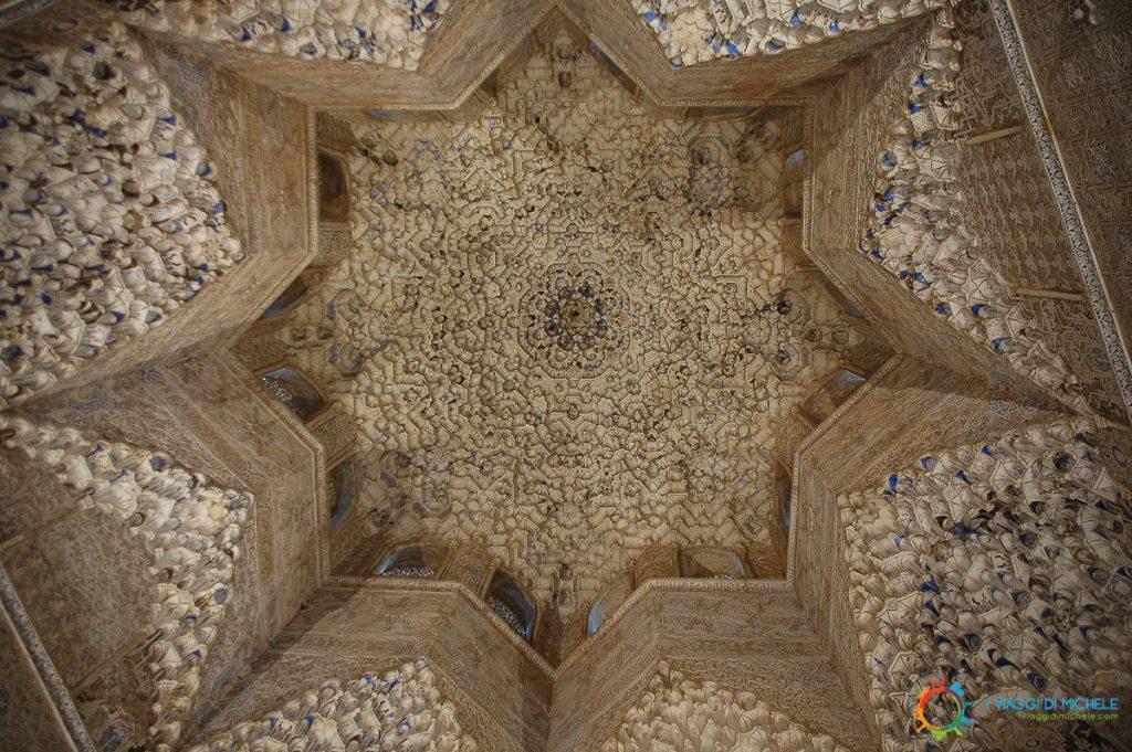 All'interno del Palacio Nazaries