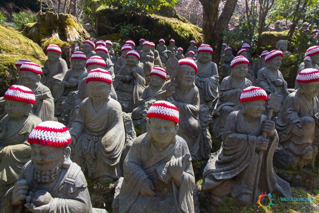 Miyajima - Statue al Daishō-in