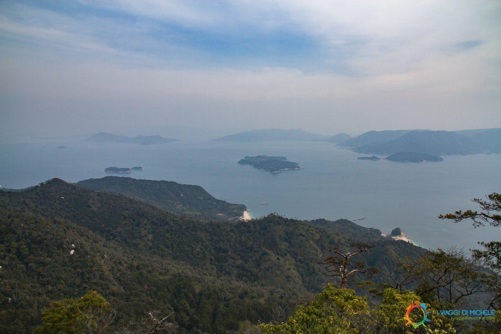Miyajma - Panorama dal monte Misen