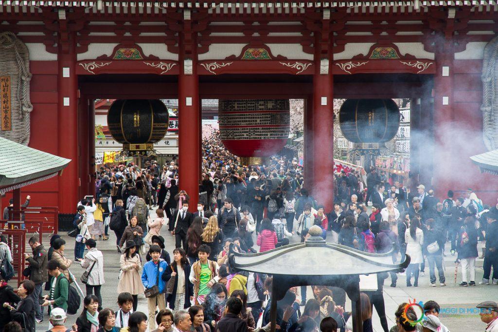 Folla al Senso-ji