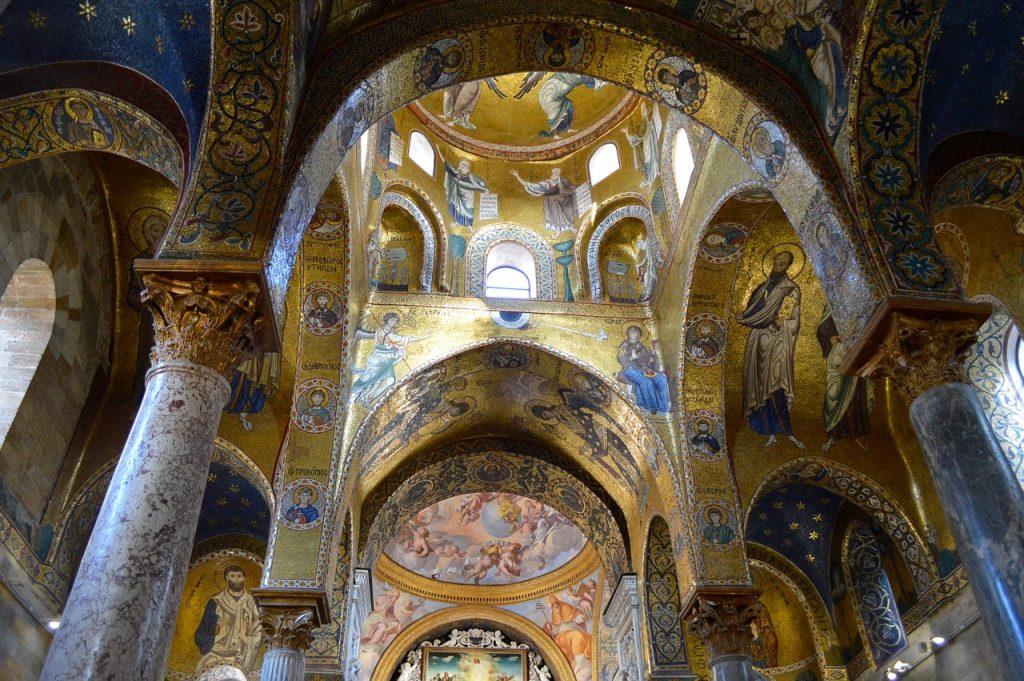 I Mosaici della Chiesa di Martorana