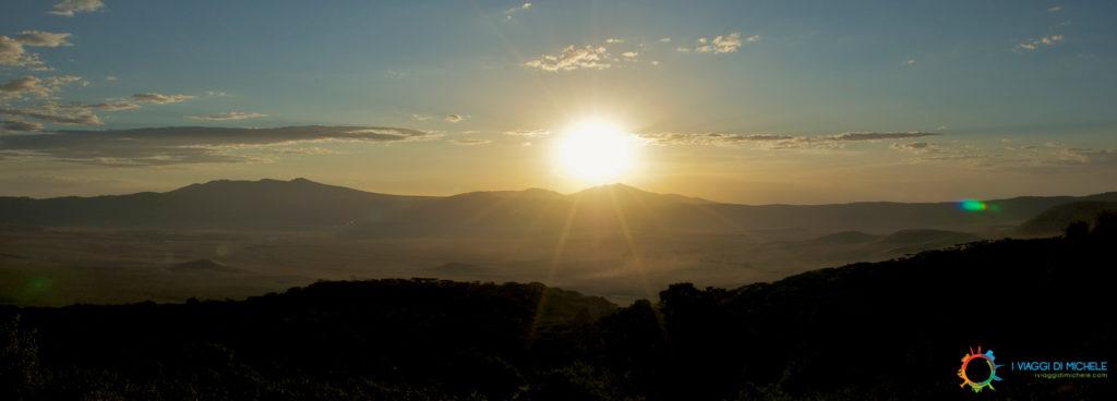 Tramonto a NgoroNgoro - Tanzania