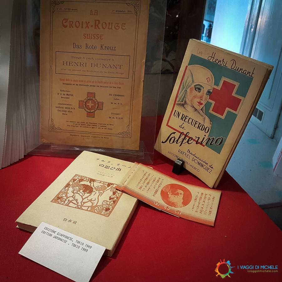 Il celebre libro di Dunant sulla Battaglia di Solferino stampato in tutte le lignue