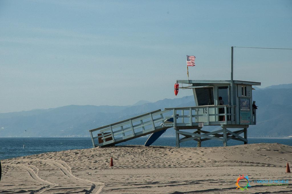 Spiaggia di Santa Monica - Los Angeles