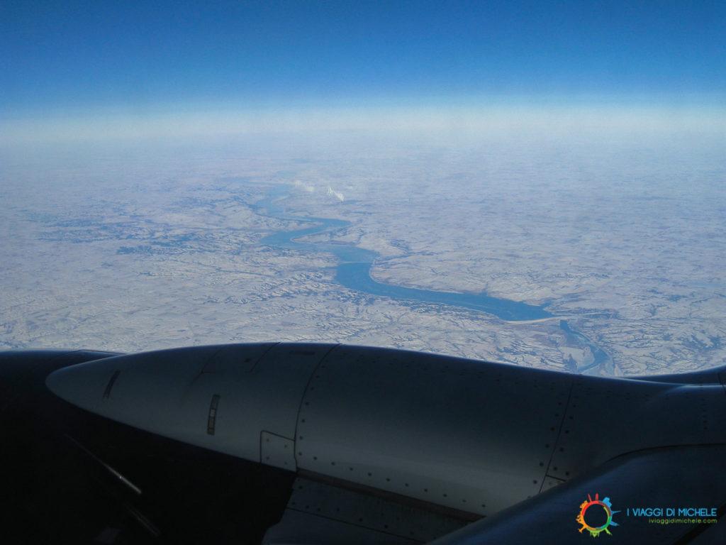 In volo sugli States