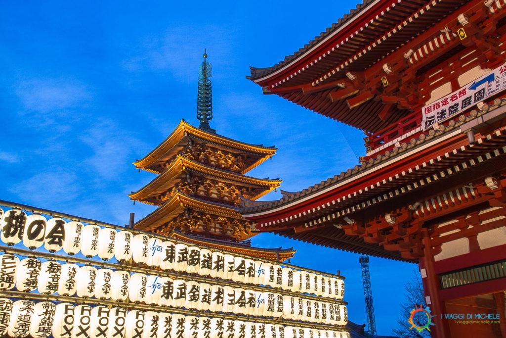 Ora Blu al Sensoji Temple