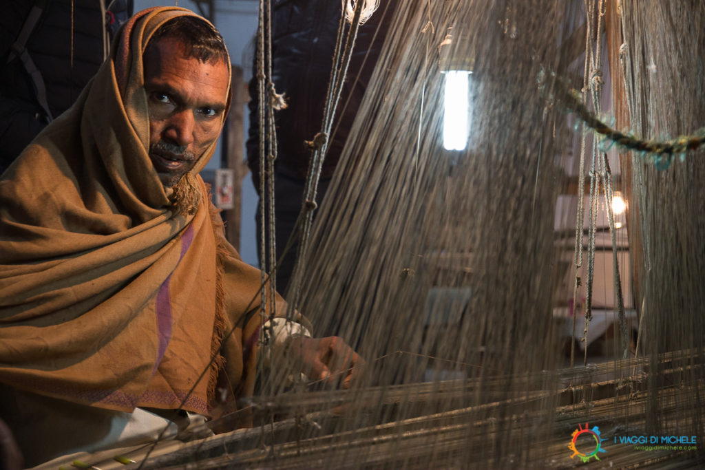 Il Tessitore di seta a Varanasi