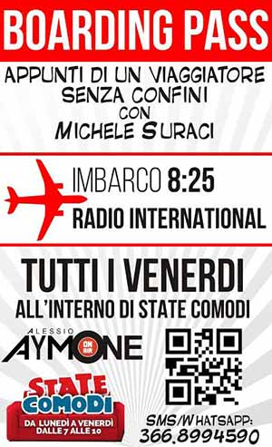 Boarding Pass - Michele Suraci - Radio International