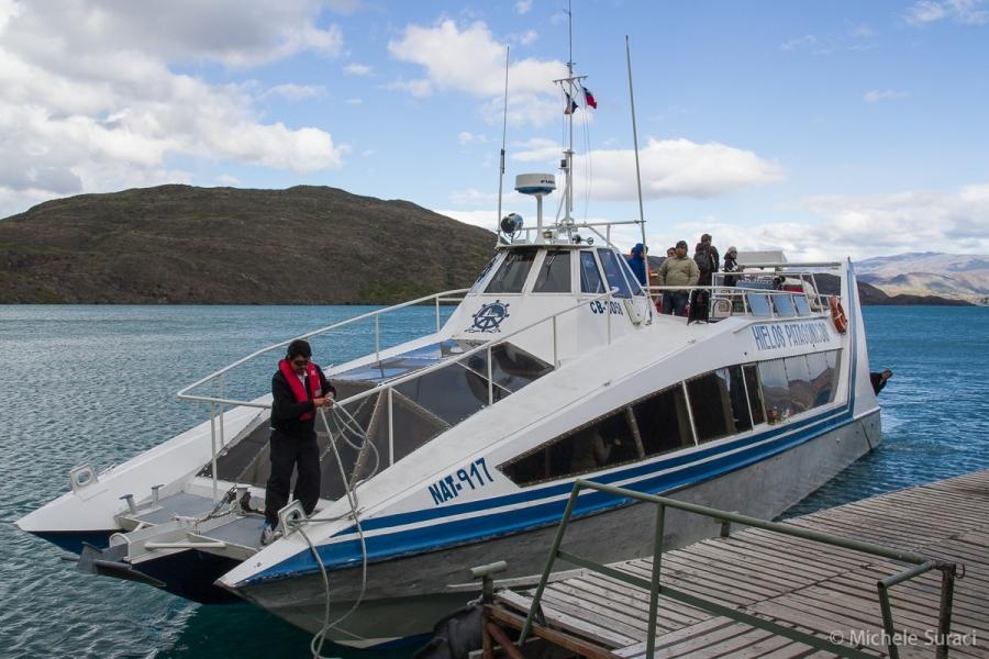 Catamarano Lago Pehoé
