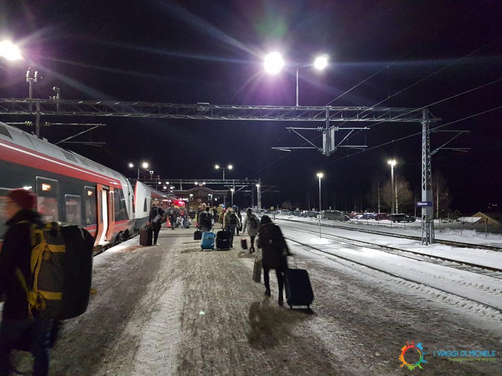 Il nostro arrivo a Lillehammer