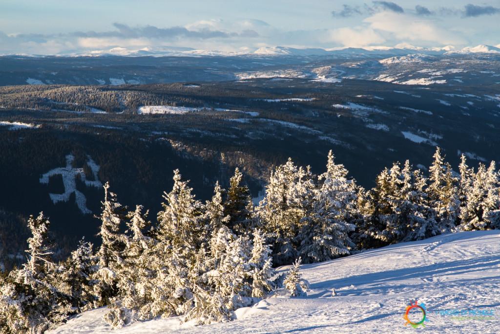 La neve di Hafjell - Lillehammer