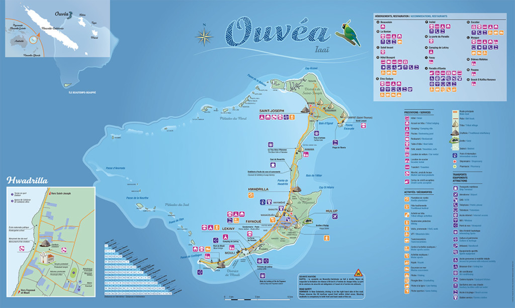 Mappa Ouvéa - Download PDF