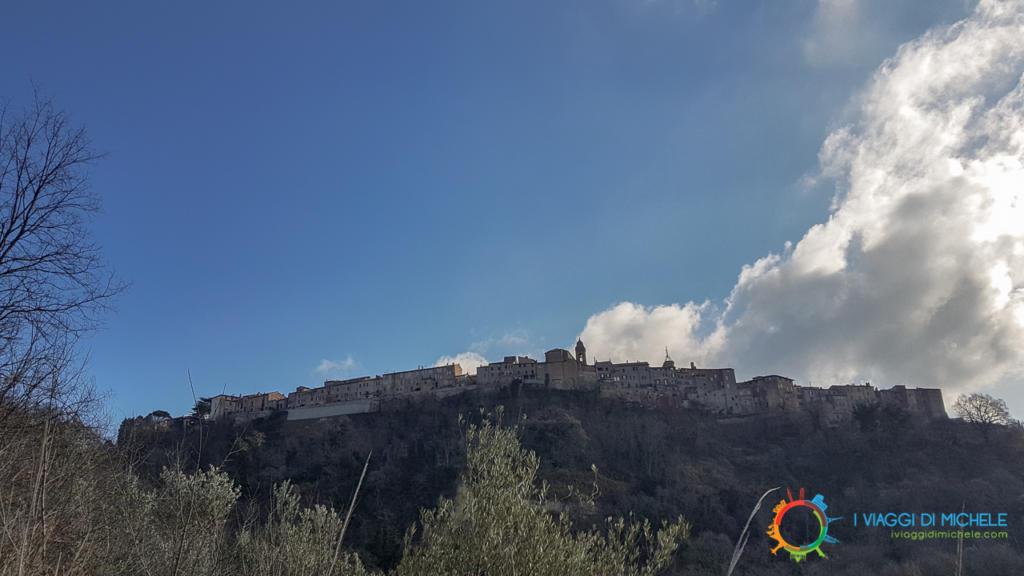 Arrivo a Monteleone d'Orvieto