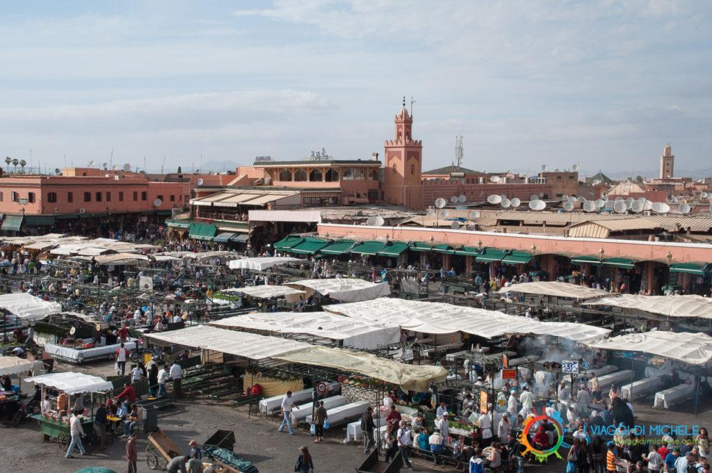 Jemaa el-Fna - Cosa non fare a Marrakech