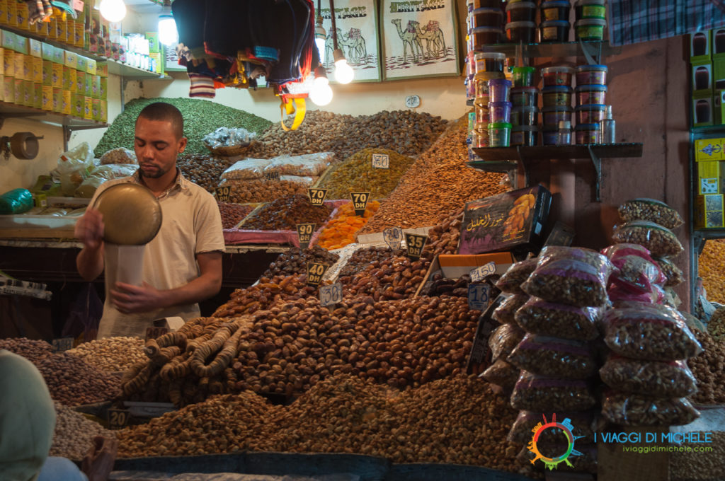 Contrattare nel Souk di Marrakech