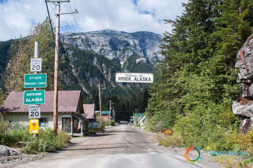 Hyder - Alaska - Stewart Cassiar Highway