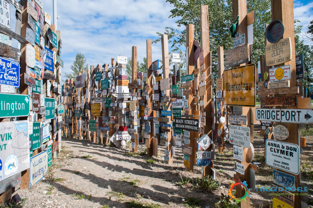 Sign Post Forest - Watson Lake