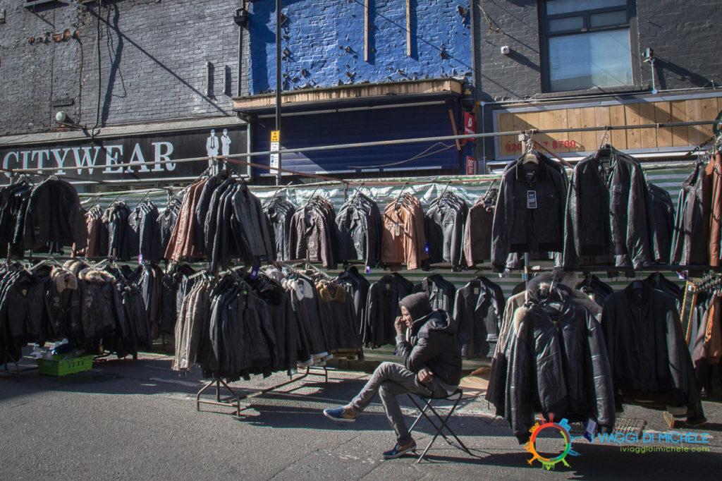 Petticoat Lane Market, la Pelle - Brick Lane