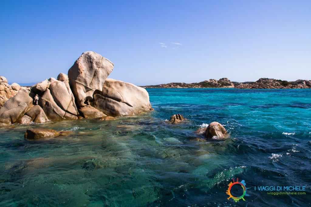 Arcipelago della Maddalena - Un particolare di Budelli