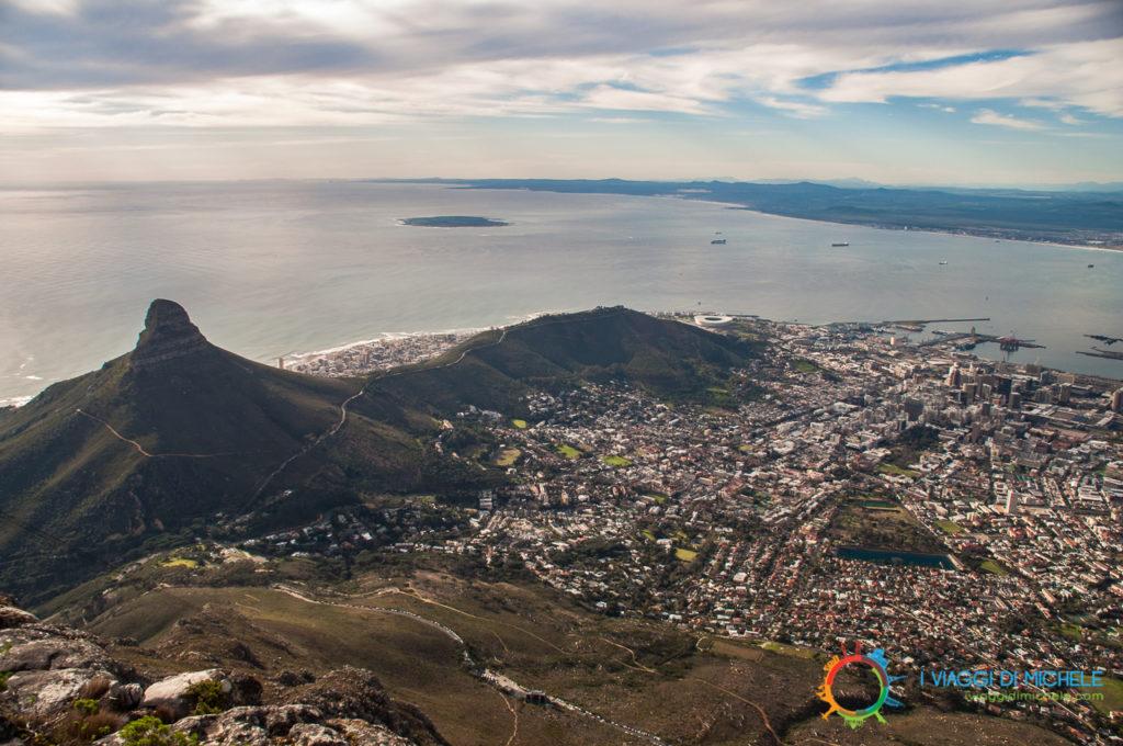 Cape Town dalla Table Mountain