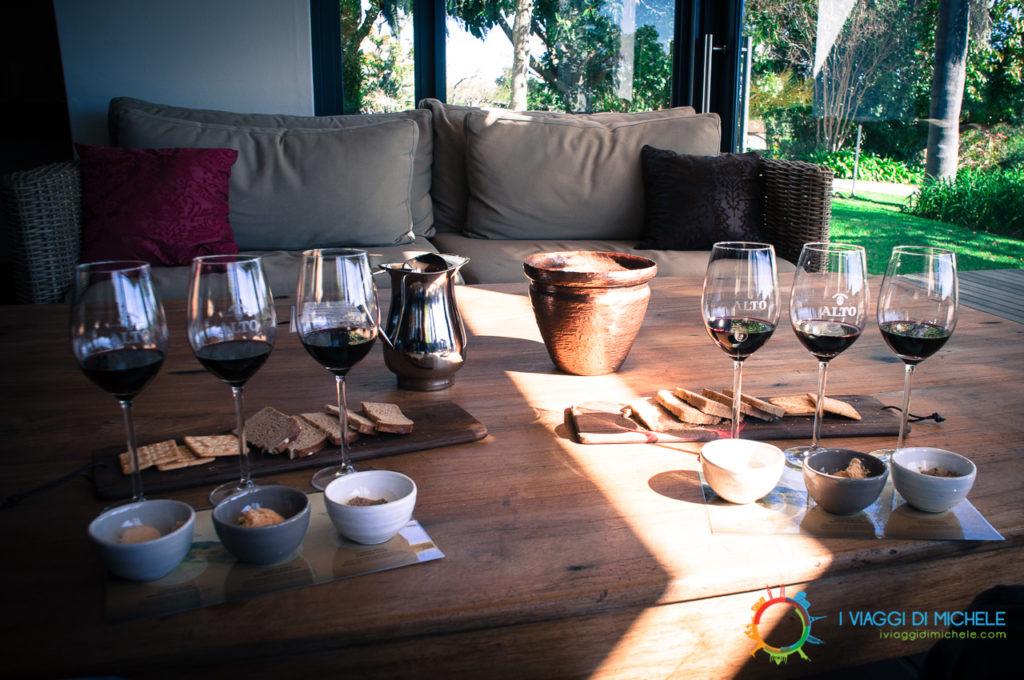 Wine Tasting a Stellenbosh