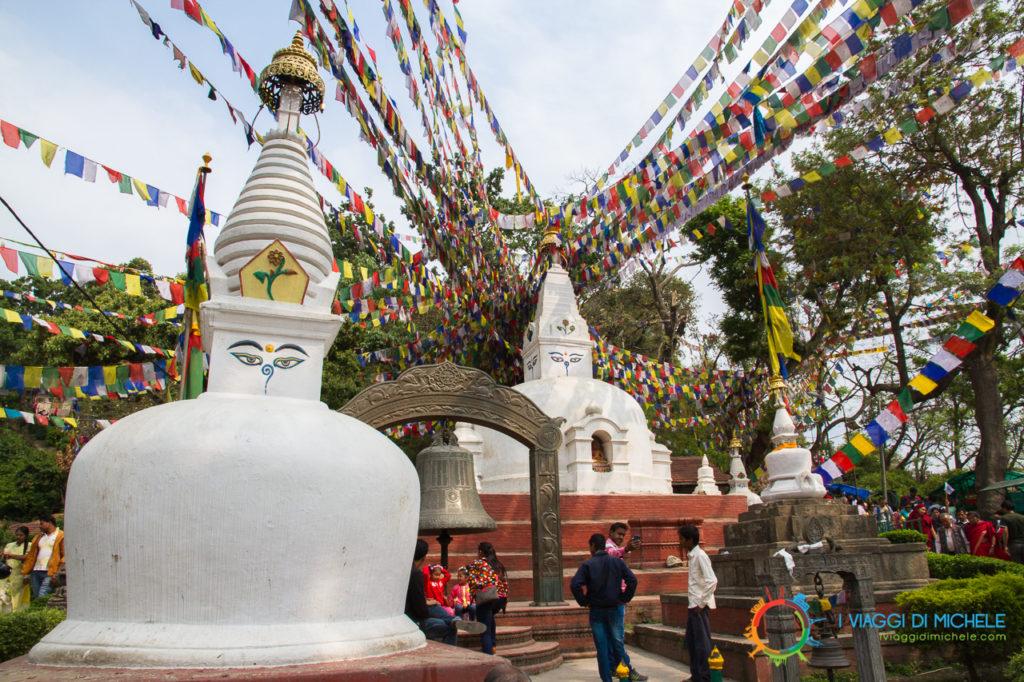 L'area templare di Swayambunath